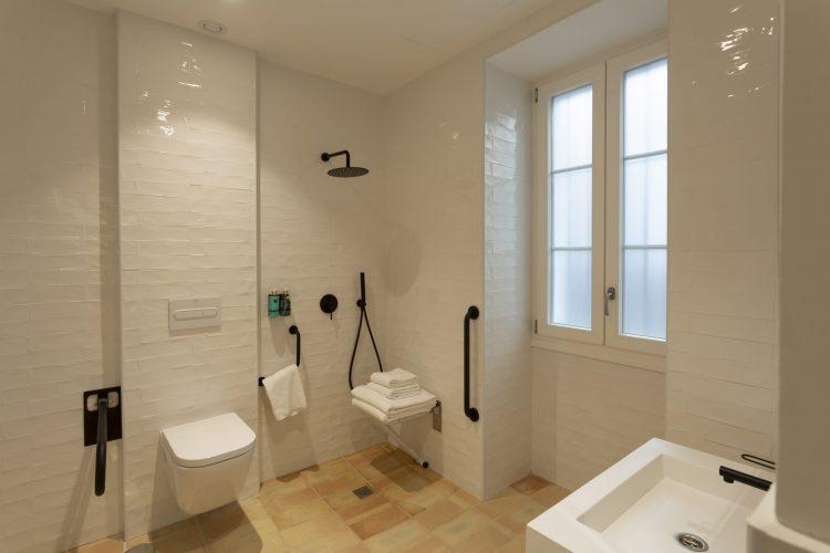 Habitación adaptada minusválidos Hotel Albariza