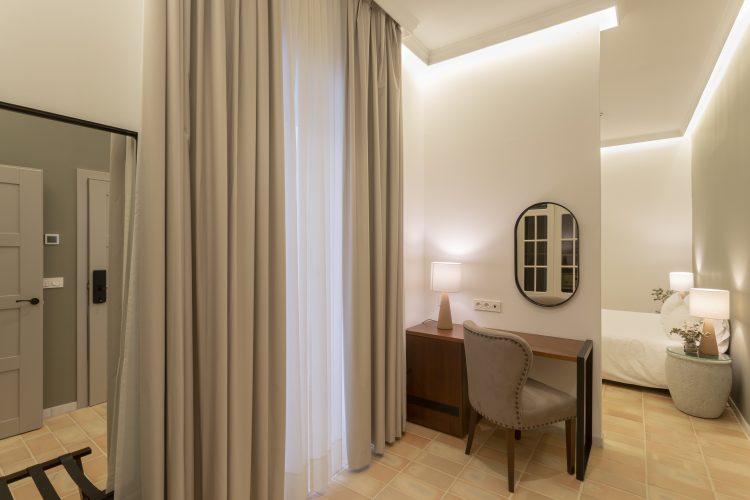 Baño Habitación adaptada minusválidos Hotel Albariza